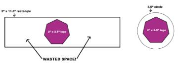 Sticker Size Diagram