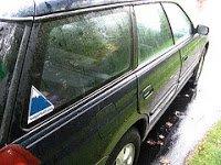 Sugarloaf sticker on a car