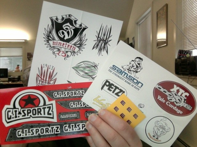 Custom Stickers Multiple Designs