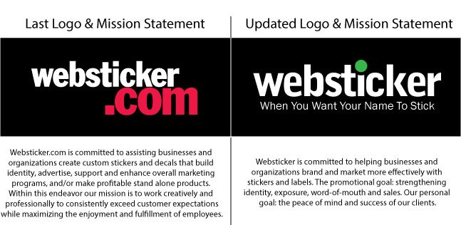 Is it time to update your logo or mission statement