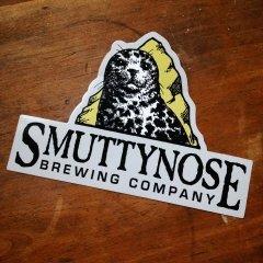 Smuttynose sticker custom made by Websticker