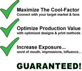 Maximize designs, optimize pricing, increase exposure of stickers, guaranteed